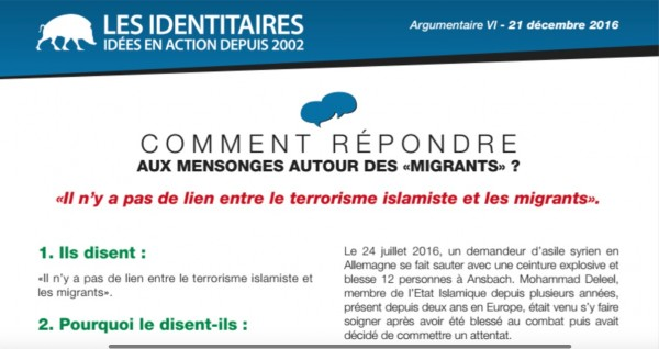 Mensonges migrants