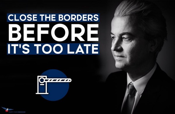 Affiche PVV Wilders