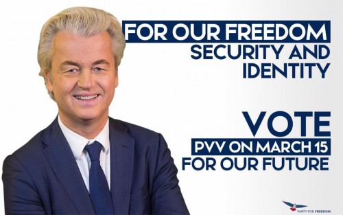 Affiche PVV Wilders 4