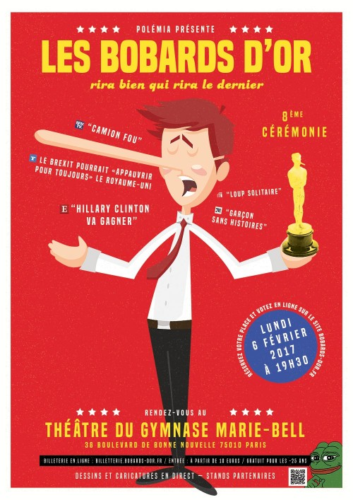 Bobards d'Or Affiche