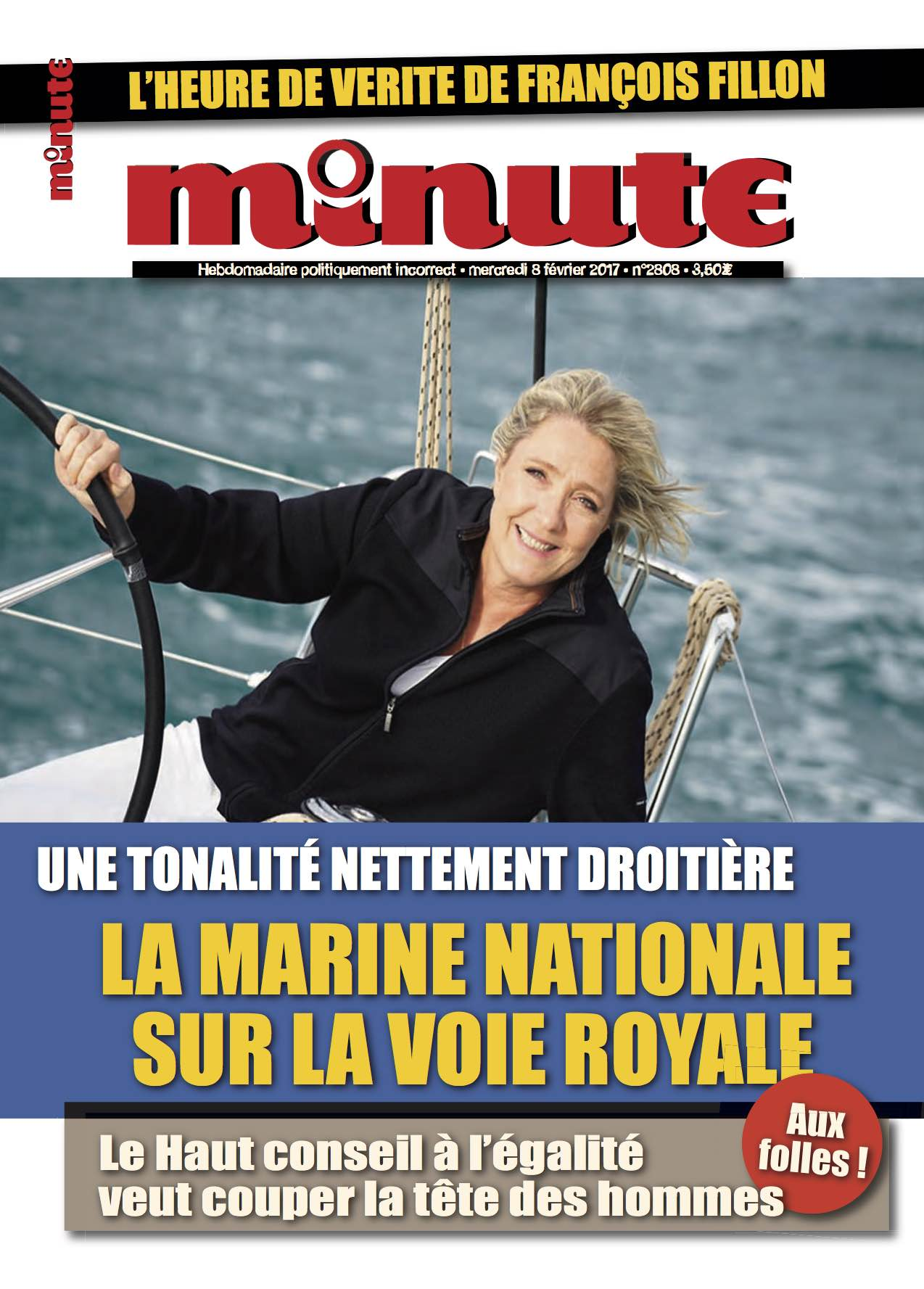 Hebdomadaire Minute Marine nationale