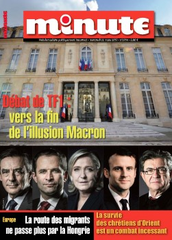 Minute débat TF1 illusion Macron