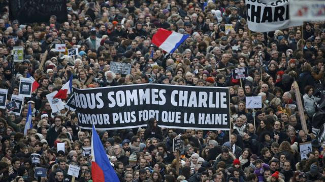 Manif Charlie