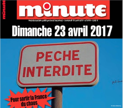 Minute Pêche interdite abstention