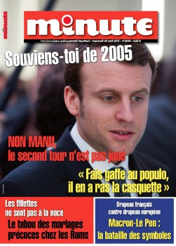 Minute couv Macron