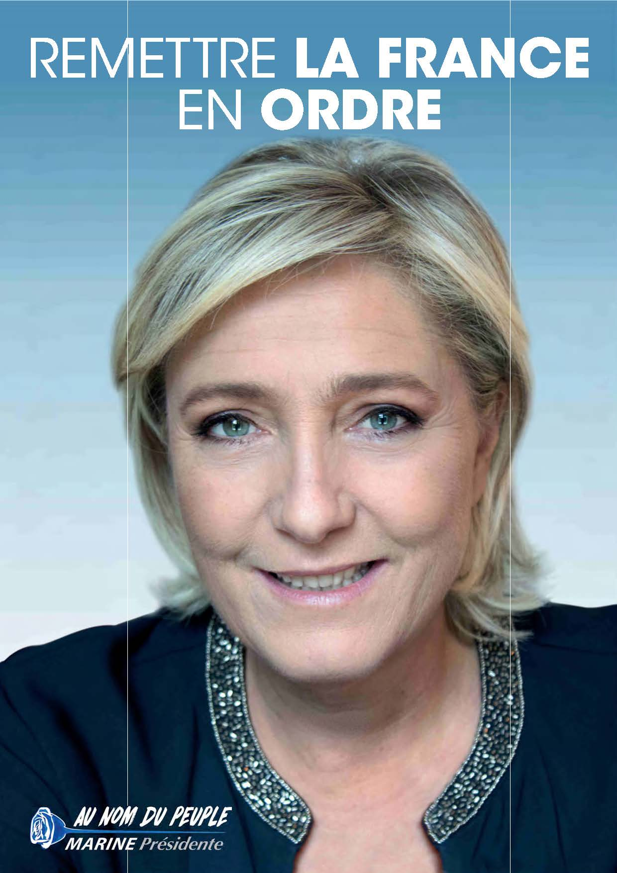 Profession de foi Marine Le Pen 1