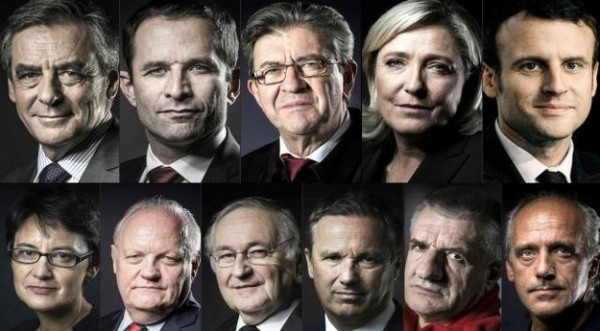 presidentielle candidats