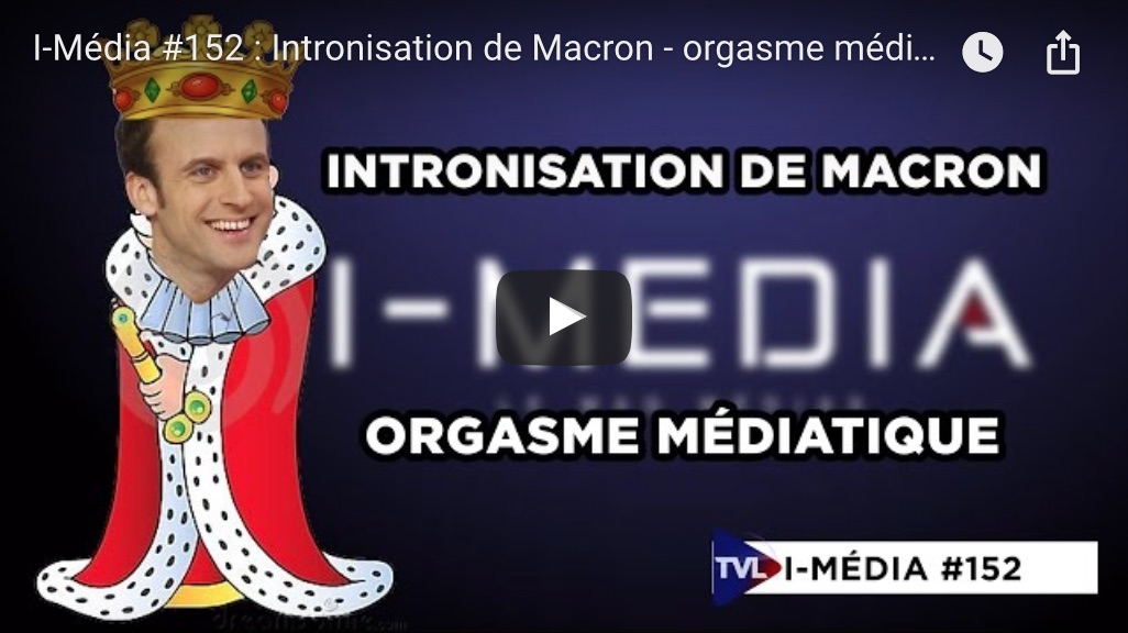Macron intronisation
