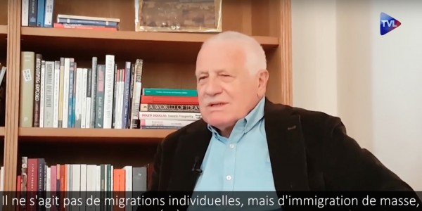 Vaclav Klaus Immigration