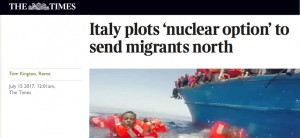 Times migrants Italie