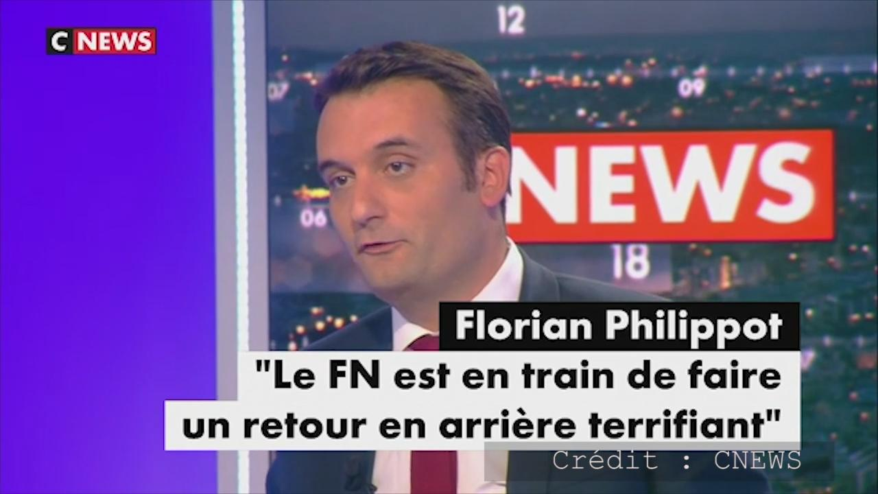 Front national médias Philippot