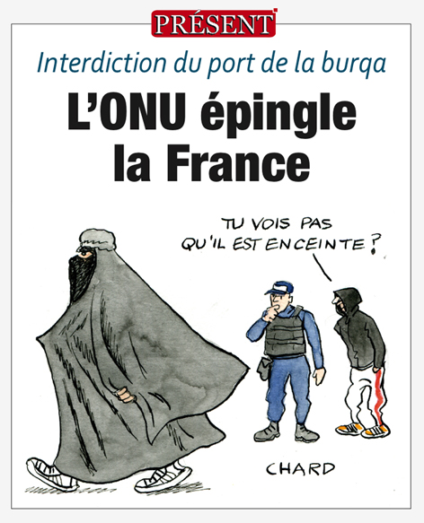Interdiction du port de la burqa – Le Comité des droits de l'homme de l'ONU épingle la France, par Pierre Malpouge