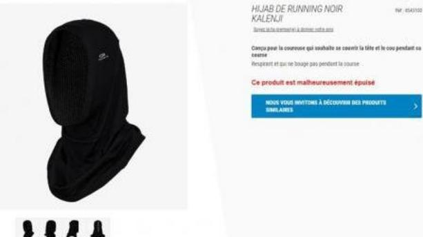 "Decathlon islamo-compatible ? Vers la commercialisation de ""hijabs de running"""